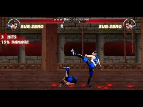 Флеш игры часть первая.Mortal kombat carnage