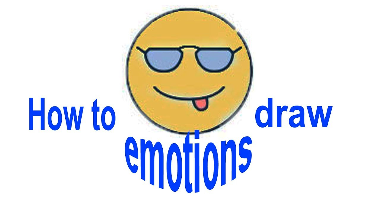 How to draw 10 different emotions, simple drawings, #Howtodraw, #PencilTV