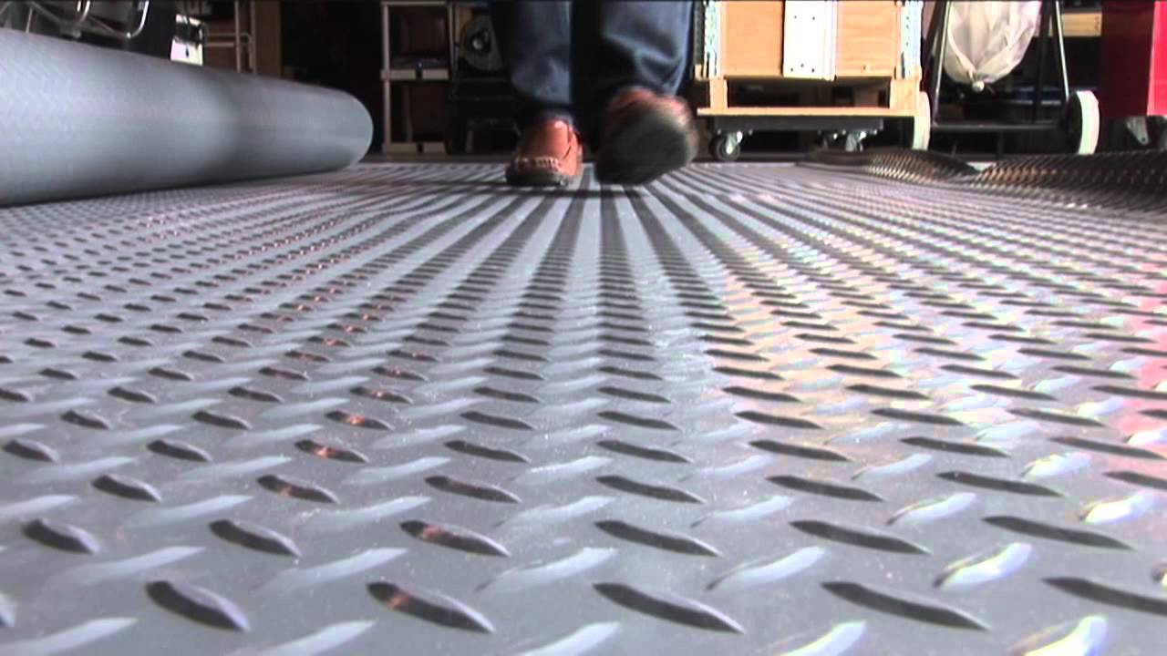 Better Life Technologies Rollout Garage Flooring   YouTube