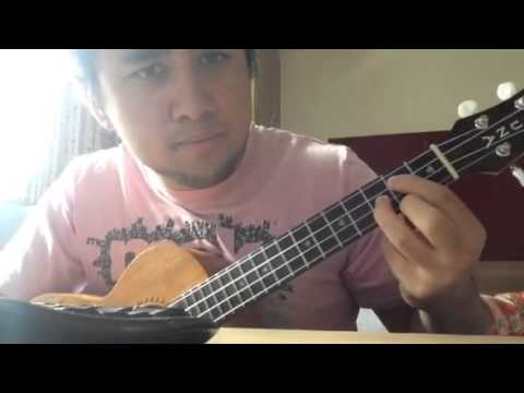 Because I Got High Afroman Ukulele Tutorial Youtube