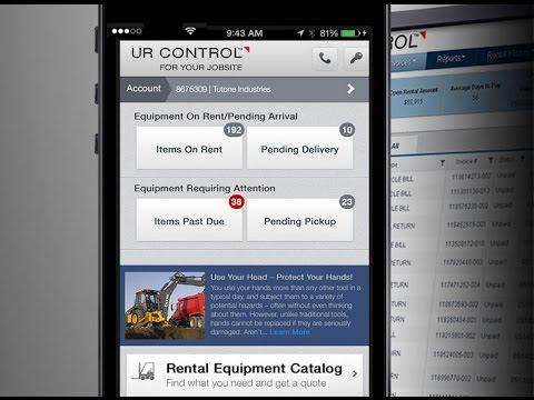 United Rentals - UR Control™