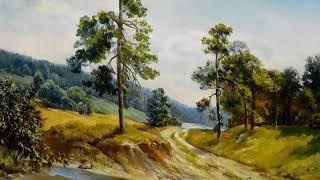 Пишем лесной пейзаж