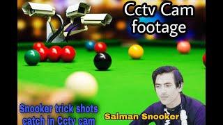 Snooker   trick   shots   Cctv   Footage |  Salman Snooker |