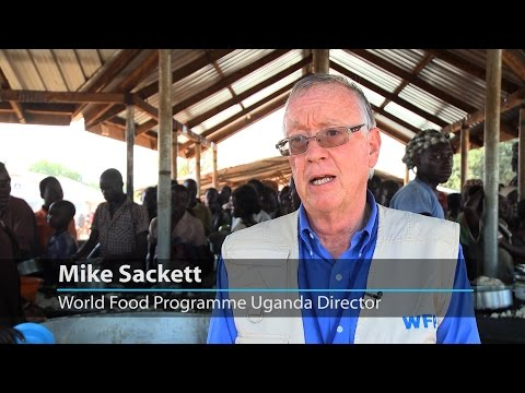 WFP implements emergency operation to aid record refugee numbers in Uganda