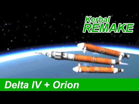 Delta IV Heavy Launch in KSP | Orion Spacecraft (EFT-1)