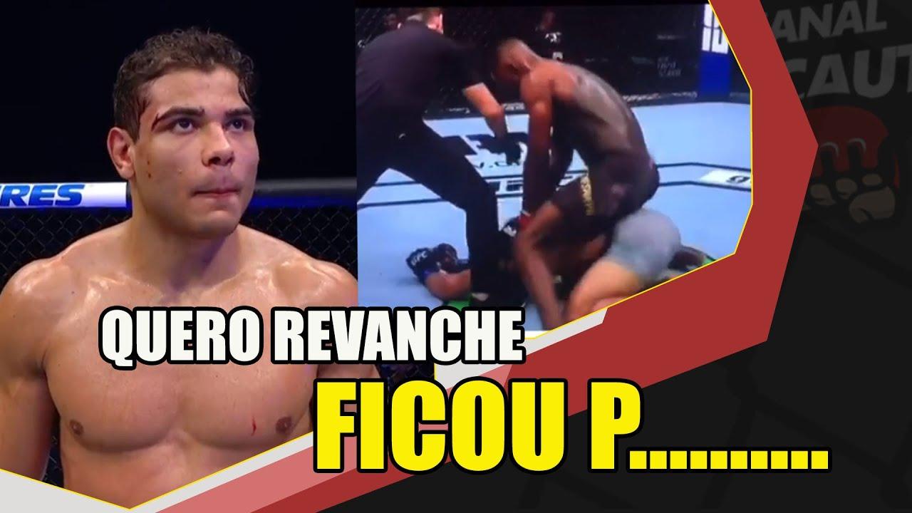 """PAULO BORRACHINHA ESTÁ P........... COM ATITUDE DE ADESANYA """" DANA FAÇA ESSA REVANCHE ACONTECER"""""""