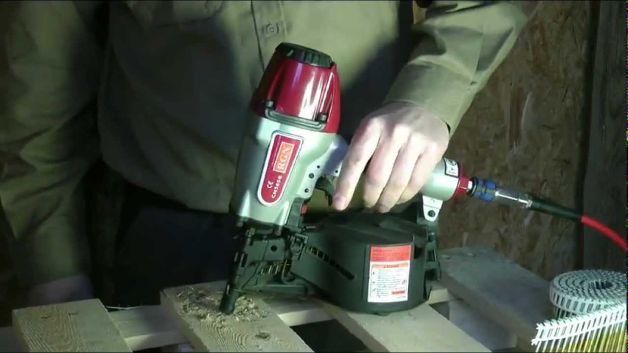 RGN CN565B Construction coil nailer - see more at www.rgneurope.com ...
