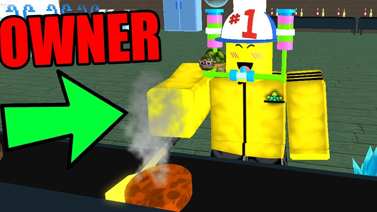 ROBLOX FAST FOOD SIMULATOR *BECOMING OWNER!* - YouTube