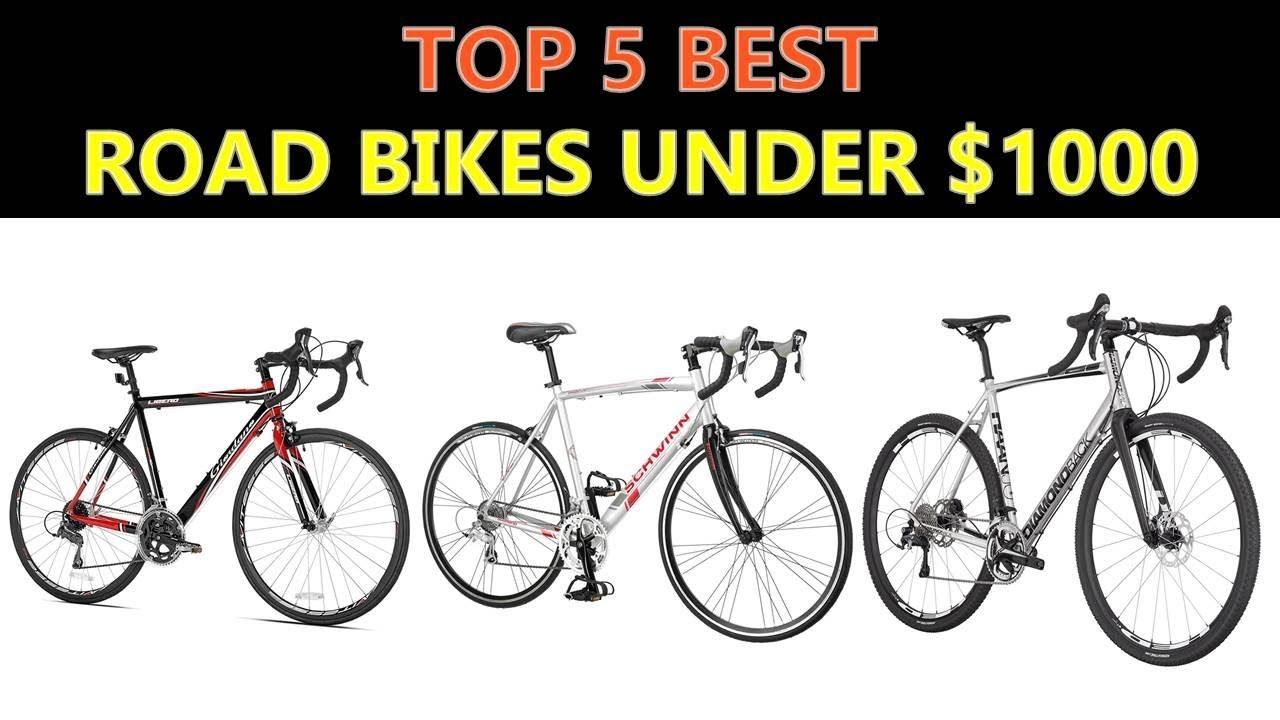Best Road Bikes Under $1000 - 2019