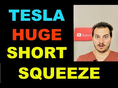 TESLA STOCK CAUSES MASSIVE SHORT SQUEEZE. I EXPLAIN WHY.