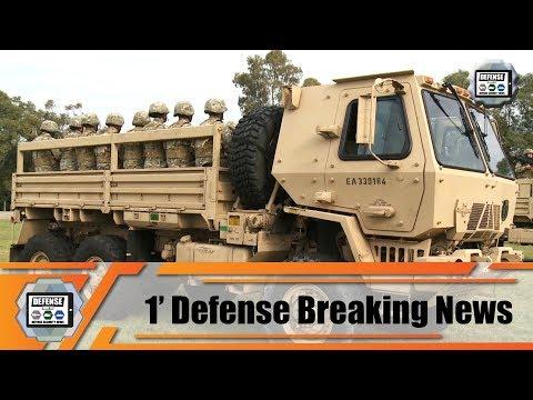 Argentine Army Receives Oshkosh FMTV Family Of Medium Tactical Vehicles M1083 Trucks From US