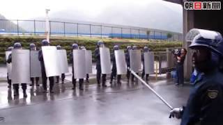 静岡県警機動隊に体験入隊