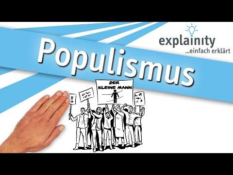 Populismus einfach erklärt