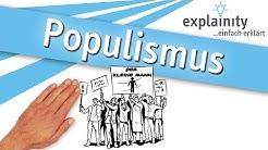 Populismus einfach erklärt (explainity® Erklärvideo)