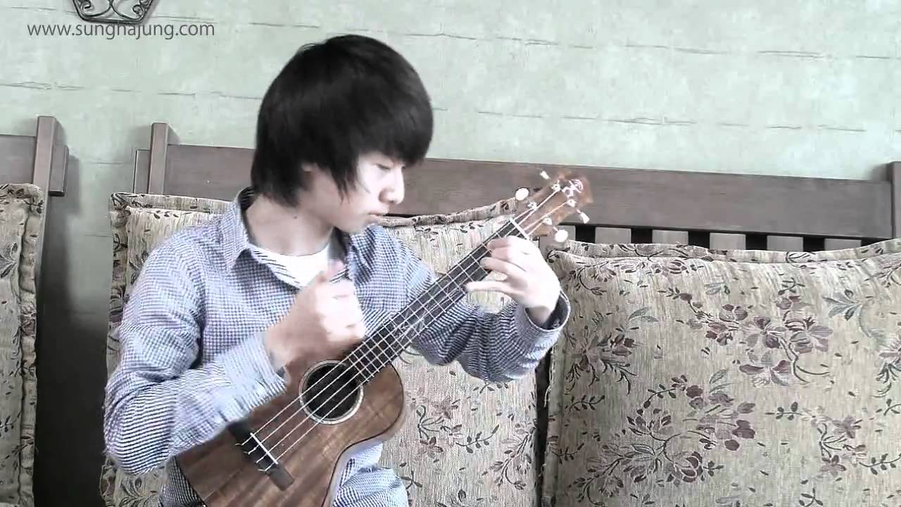 Somewhere Over The Rainbow Sungha Jung | Ukesong