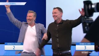 The best game of Teqball! Chris Sutton & Robbie Savage vs Hashtag United!