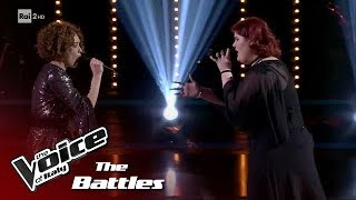 "Maryam Tancredi vs Mara Sottocornola ""Skyfall"" - Battles - The Voice of Italy 2018"