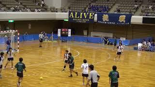 10日 ハンドボール女子 あづま総合体育館 Aコート 佼成学園×高水 決勝 2