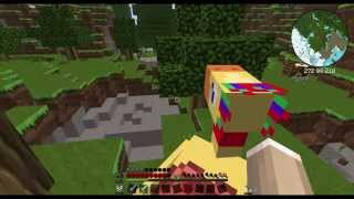 Minecraft Hexxit #009 - Chocobo Ride - Let
