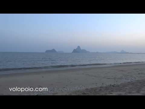 Prachuap Khiri Khan Bay in Thailand