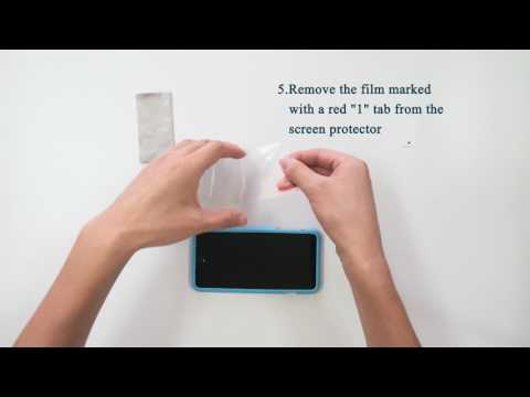 SPARIN A15 How to Use Installation Tool to Install Smartphone Screen Protector