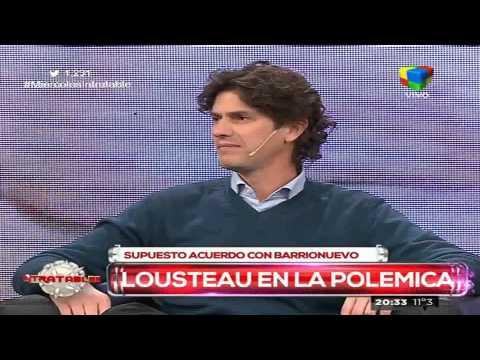 Lousteau: No tengo ninguna relación con Barrionuevo