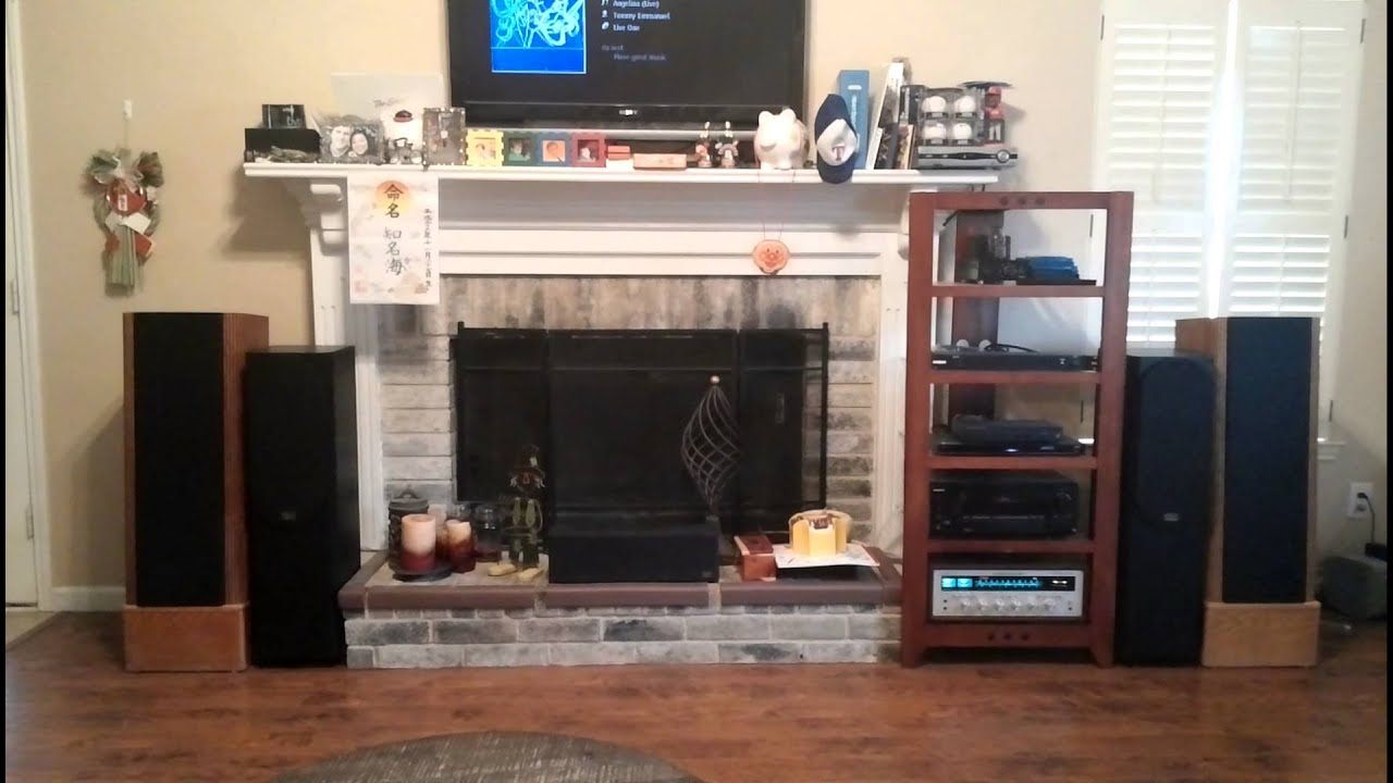 Marantz 2270 And Infinity Rs4 Youtube