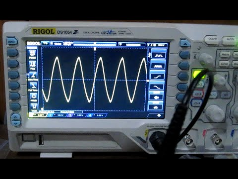 Sine Wave Generator with a 555 Timer