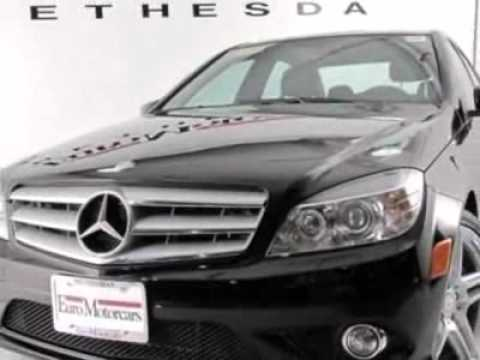 2010 mercedes benz c class c350 sedan bethesda md youtube for Mercedes benz bethesda md