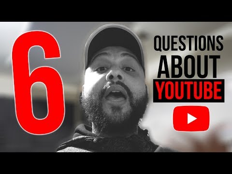 6 Questions I Always Get About Growing A YouTube Channel