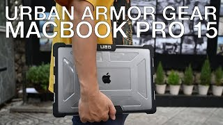 Trên tay vỏ bảo vệ Urban Armor Gear cho Macbook Pro 15