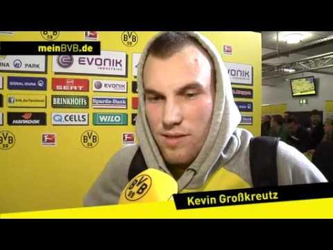 BVB - Olympiakos Piräus: Interviews mit Mario Götze und Kevin Großkreutz