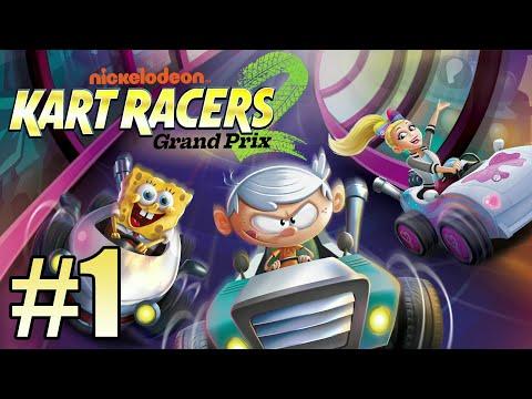 Nickelodeon Kart Racers 2: Grand Prix Gameplay Walkthrough Part 1