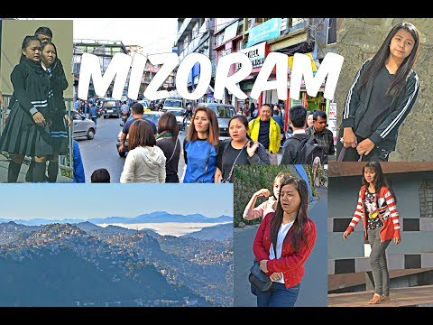 Beautiful Mizoram Girls | City Streets | Mountains  HD