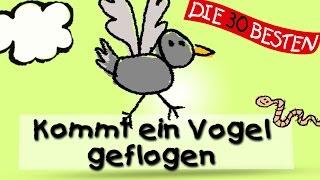 Kommt ein Vogel geflogen - Traditionelle Kinderlieder || Kinderlieder
