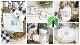 DIY Dollar Tree Fall Decor | 5 PROJECTS!