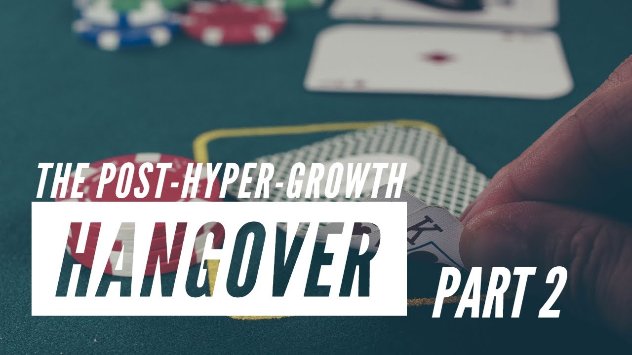 The post-hyper-growth hangover - Part 2 - Decision-making beyond hyper-growth