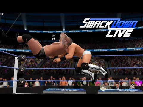 Randy Orton vs. The Miz: SmackDown Live-WWE 2K16- Simulation