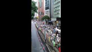 The Hong Kong 1 July protests 2013 - (2)
