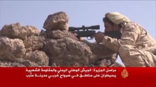 مواقع جديدة بصرواح اليمنية بيد المقاومة والجيش