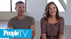 Scott Foley And Marika Domińczyk's Love Story Is A 'Fairy Tale' | PeopleTV