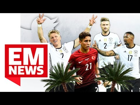 "Schweini und Boateng abgefeiert, BVB-Juwel zeigt Zauberfuß, Türkei kriegt ""Eitel-Gegentor"" - EM-News"