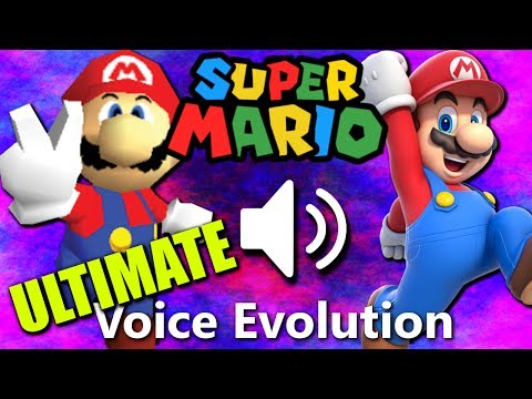 MARIO: Voice Evolution (1996-2017)