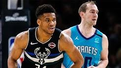 Milwaukee Bucks vs Charlotte Hornets Full Game Highlights | January 24, 2019-20 NBA Season
