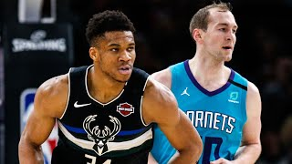 Milwaukee Bucks vs Charlotte Hornets Full Game Highlights | January 24, 2019-20 NBA Season