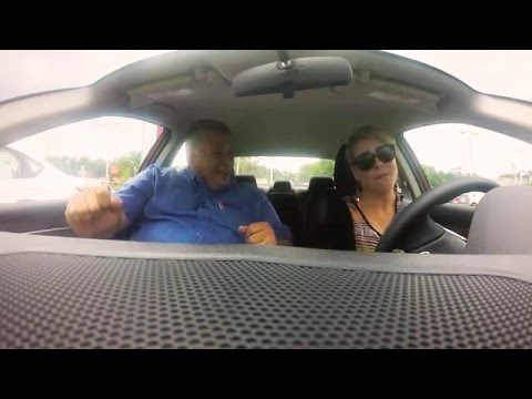 Carpool Karaoke with Hispanic Car Salesman - Pearson Nissan Test Drive