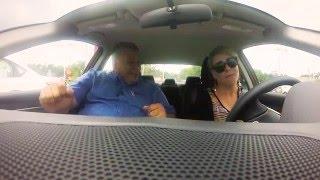 Carpool Karaoke with Hispanic Car Salesman - Pearson Nissan Test Drive