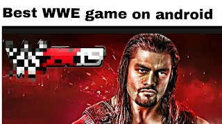 Best WWE game on android smartphone   only 70 mb   by tech master Prateek in hindi