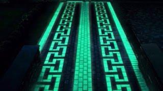 В Череповце начали производить светящуюся тротуарную плитку