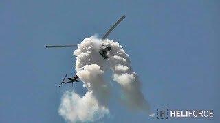 Mi-2 Helicopter Aerobatics Flight - 2017.07.08